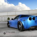 Strasse Forged Wheels Matte Blue Z06
