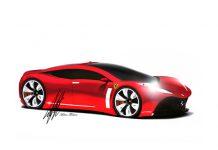 Ferrari Elegance Four Door Concept By Maher Thebian