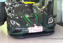 Koenigsegg Agera S Seen for First Time in Hong Kong