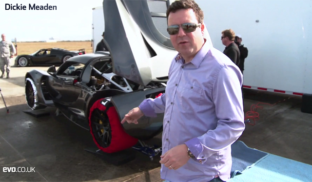 Video: EVO Magazine Looks at Hennessey's World Record