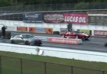 Video: Tuned Nissan GT-R vs 700hp Ford GT