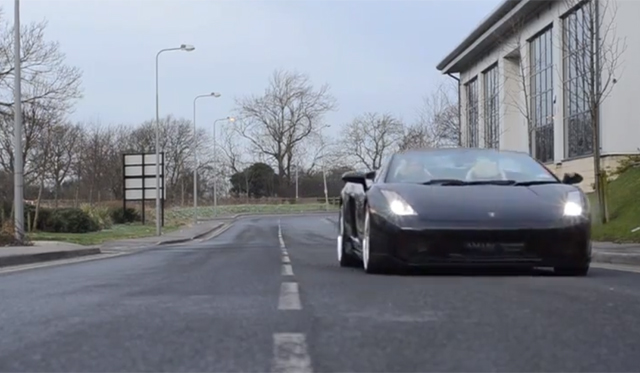 Video: Black Lamborghini Gallardo Spyder by Hamann
