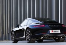 Official: Akrapovic Slip-on Titanium Exhaust for 2012-13 Porsche 911