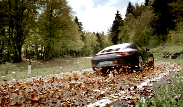 Video: Porsche Goes Behind-the-Scenes of 911 Commercial
