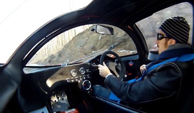 Video: Ferrari P4 Replica Driven on U.S. Roads