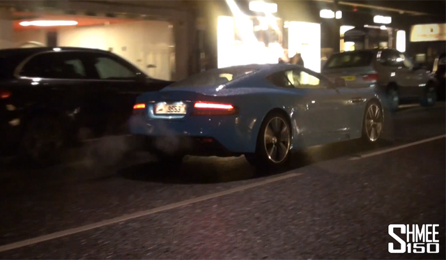 Video: Lamborghini Aventador with iPE Exhaust vs Quicksilver Aston Martin DBS