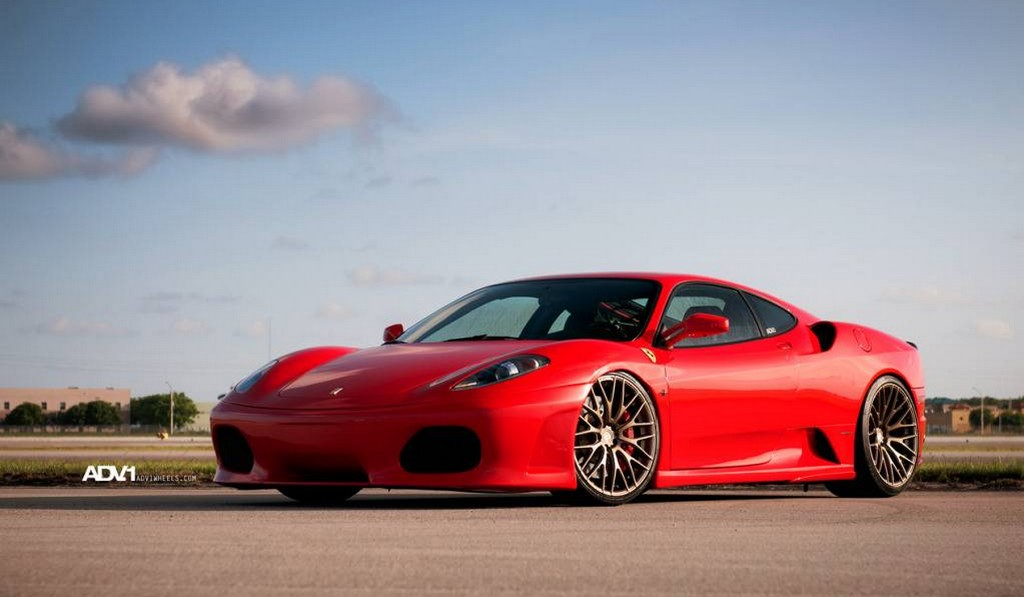 Ferrari F430 Fitted With ADV10.01SL Wheels