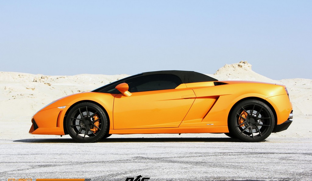 lamborghini gallardo lp560 4 spyder on renown wheels gtspirit. Black Bedroom Furniture Sets. Home Design Ideas