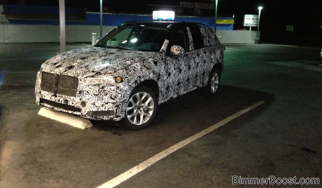 2014 BMW X7 Spotted Testing in California