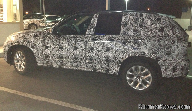 2014 BMW X7 Spotted Testing in California 02