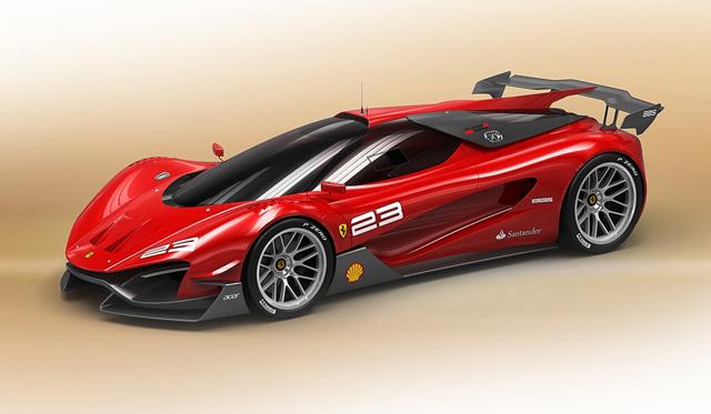 Ferrari Zerzi Competizione Design Concept by Samir Sadikhov