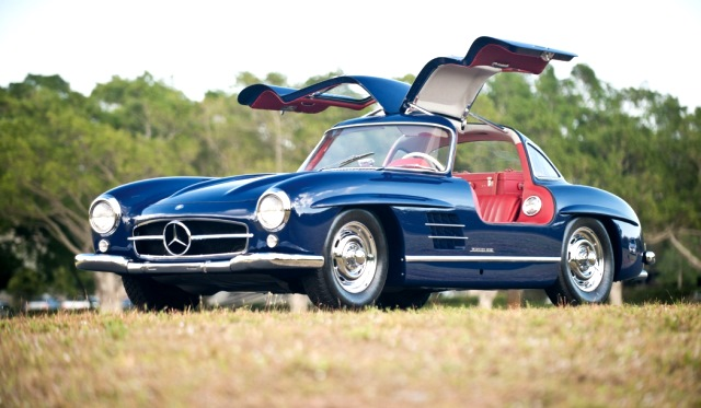 1955 Mercedes-Benz 300SL Gullwing Headed to Auctions America