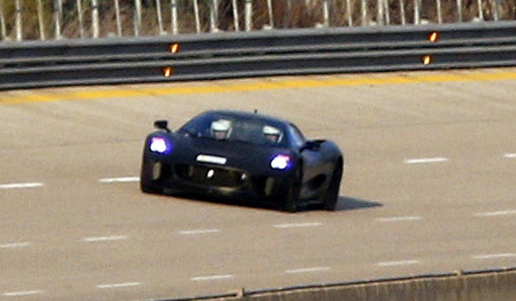 Spyshots: Jaguar C-X75 Spied Despite Cancellation
