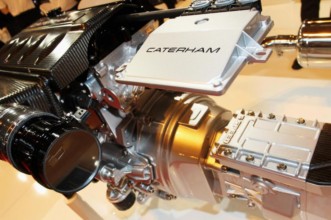 Caterham Preparing to Launch More Powerful Seven for Europe
