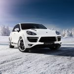 TopCar Porsche Cayenne Vantage 2 Russian Winter Photoshoot