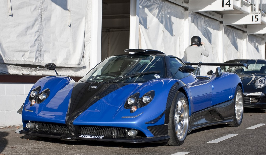 Updated Pagani Zonda PS Captured at Trackday With Owner - GTspirit