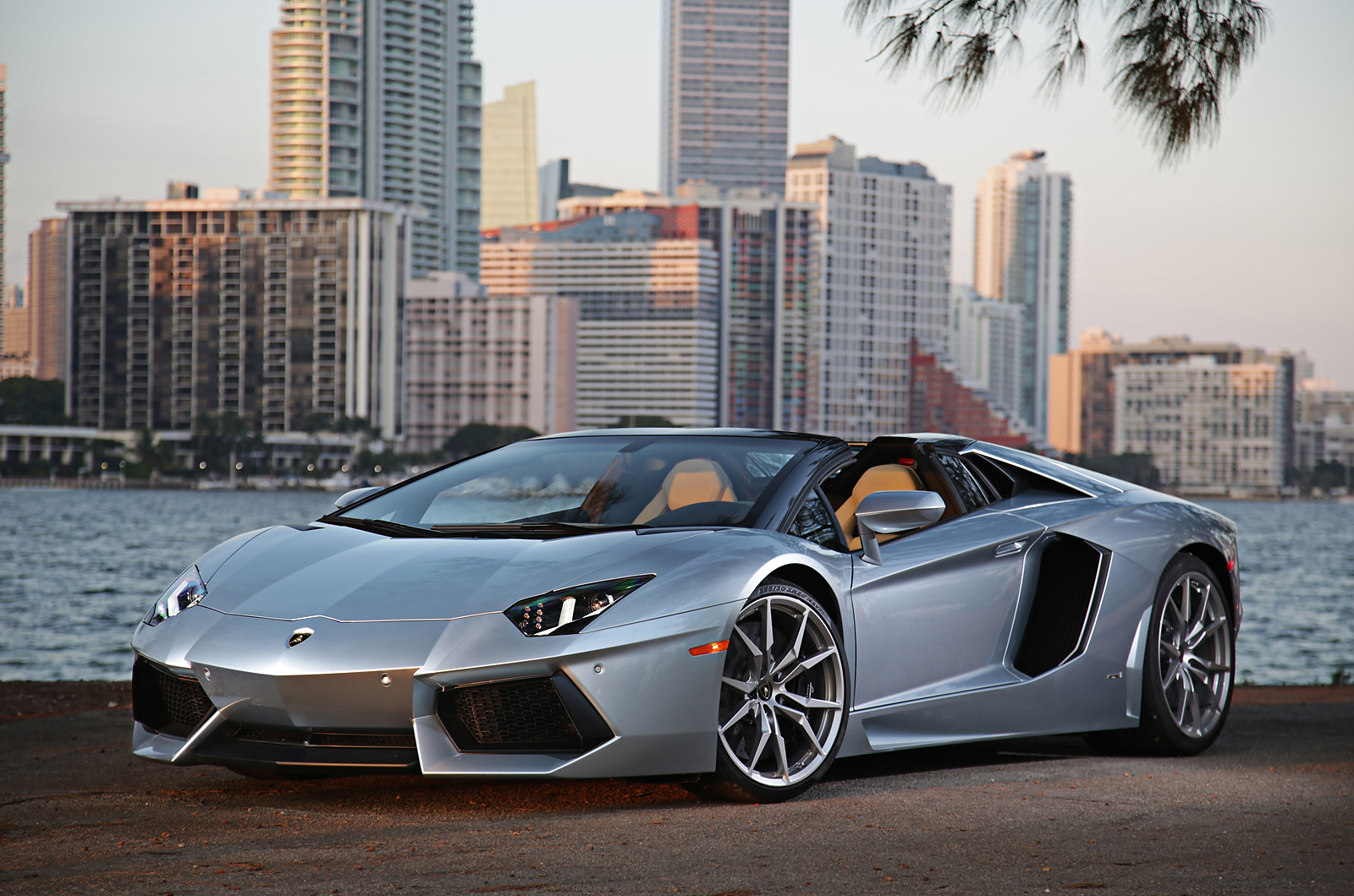 Photo Of The Day: 2014 Lamborghini Aventador Roadster In Miami