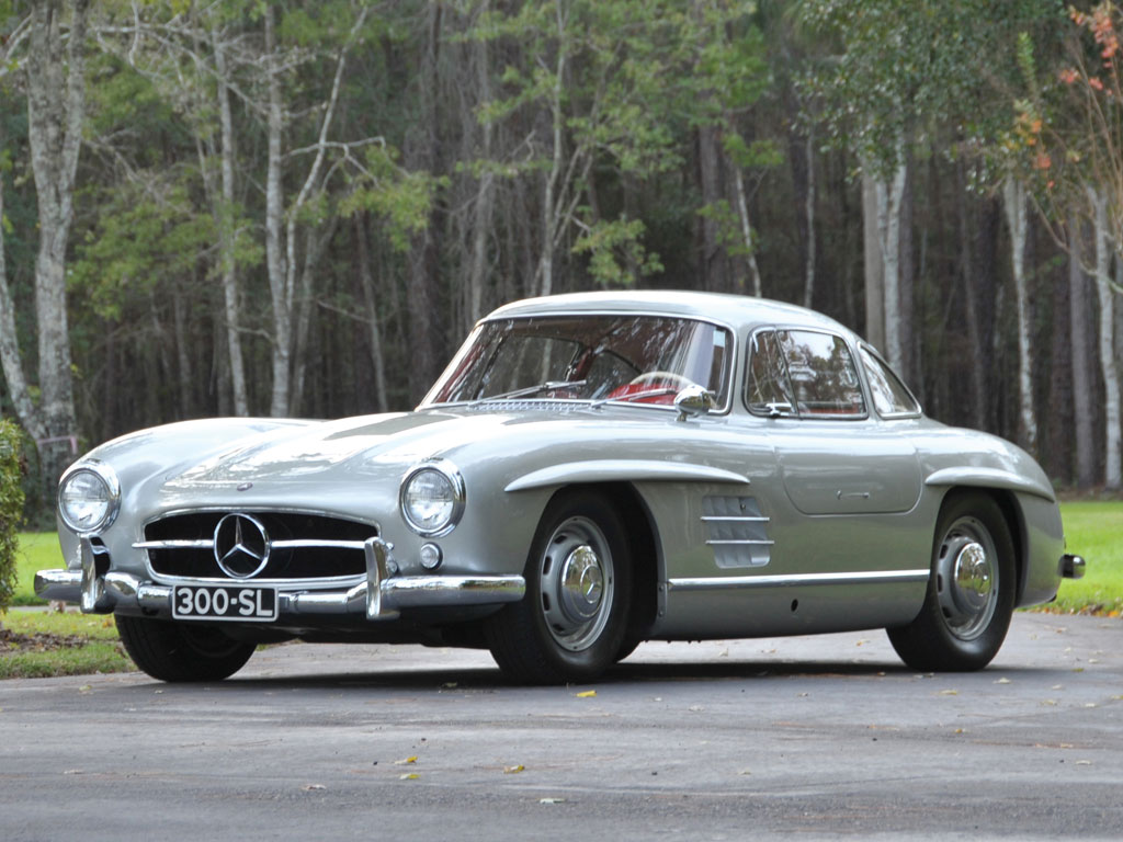 Rm to auction 1955 mercedes benz 300sl gullwing at amelia for Mercedes benz 300sl gullwing for sale