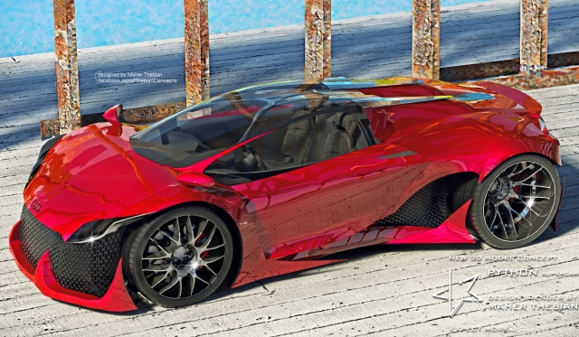 Render Audi Python R10 by Maher Thebian