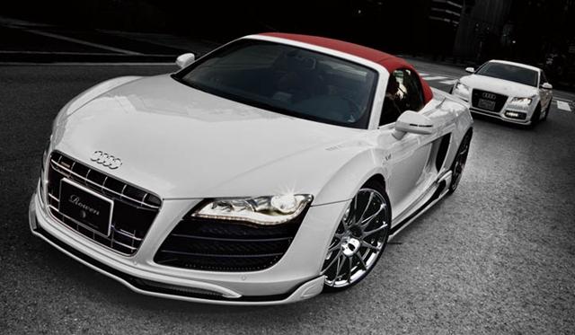 Official: Audi R8 V10 Spyder White Wolf Edition