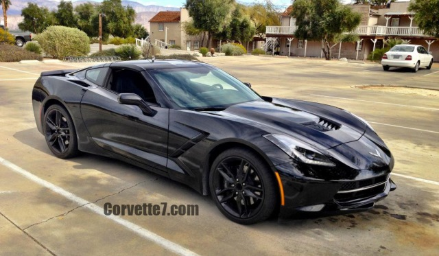 Chevrolet Corvette Stingray Spotted In San Diego By