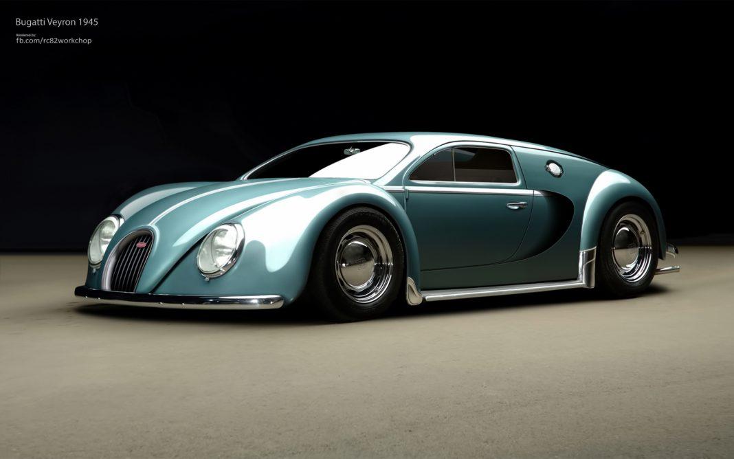Render: Bugatti Veyron Beetle Edition