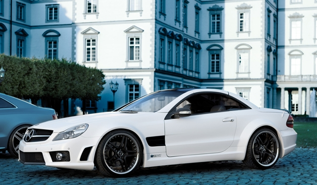 Official mercedes benz sl 500 by famous parts gtspirit for Official mercedes benz parts