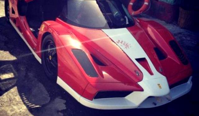 Fast and Furious 6 Ferrari FXX is a Replica