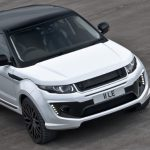 Fuji White Kahn Design Range Rover Evoque RS250 Set for Geneva