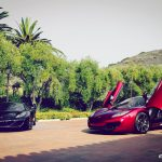 Volcano Red and Black McLaren MP4-12C Duo by SP Engineering