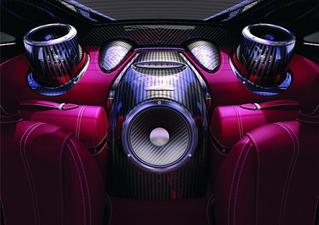 Sonus Faber 1200 Watts Sound System For Pagani Huayra