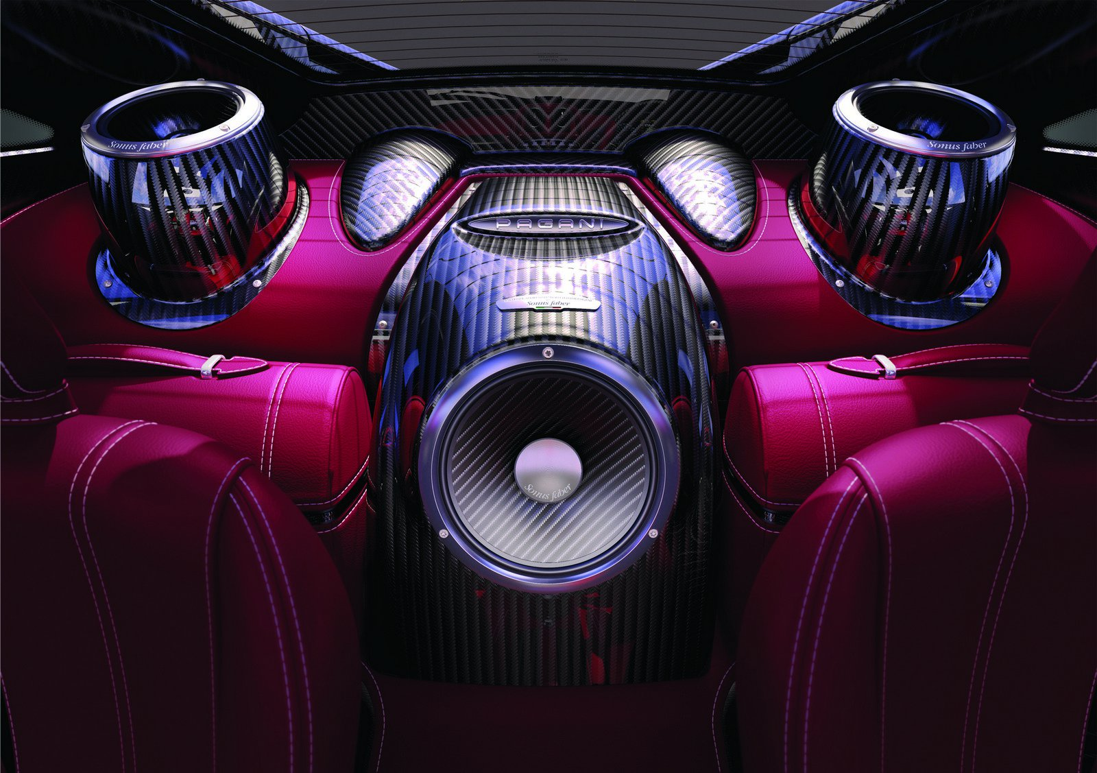 Official: Sonus Faber 1200 Watts Sound System For Pagani ...