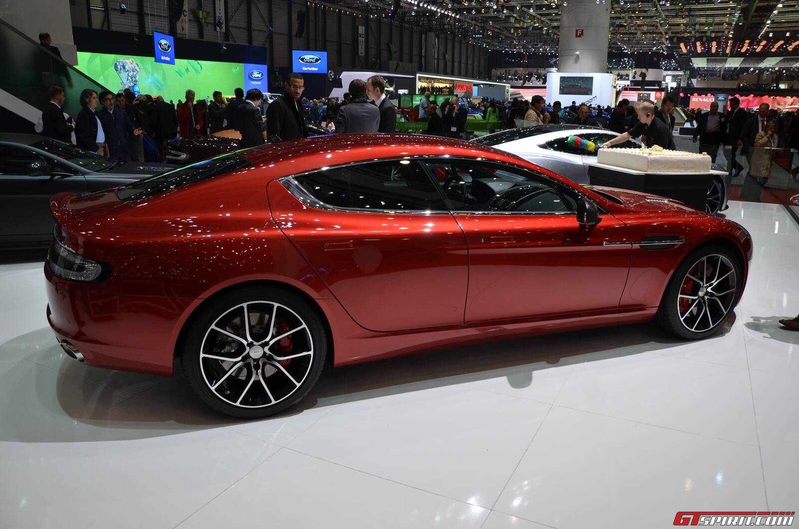 Geneva Aston Martin Rapide S GTspirit - Aston martin four door