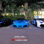 Chinese New Year's Eve Lamborghini Gathering in Singapore