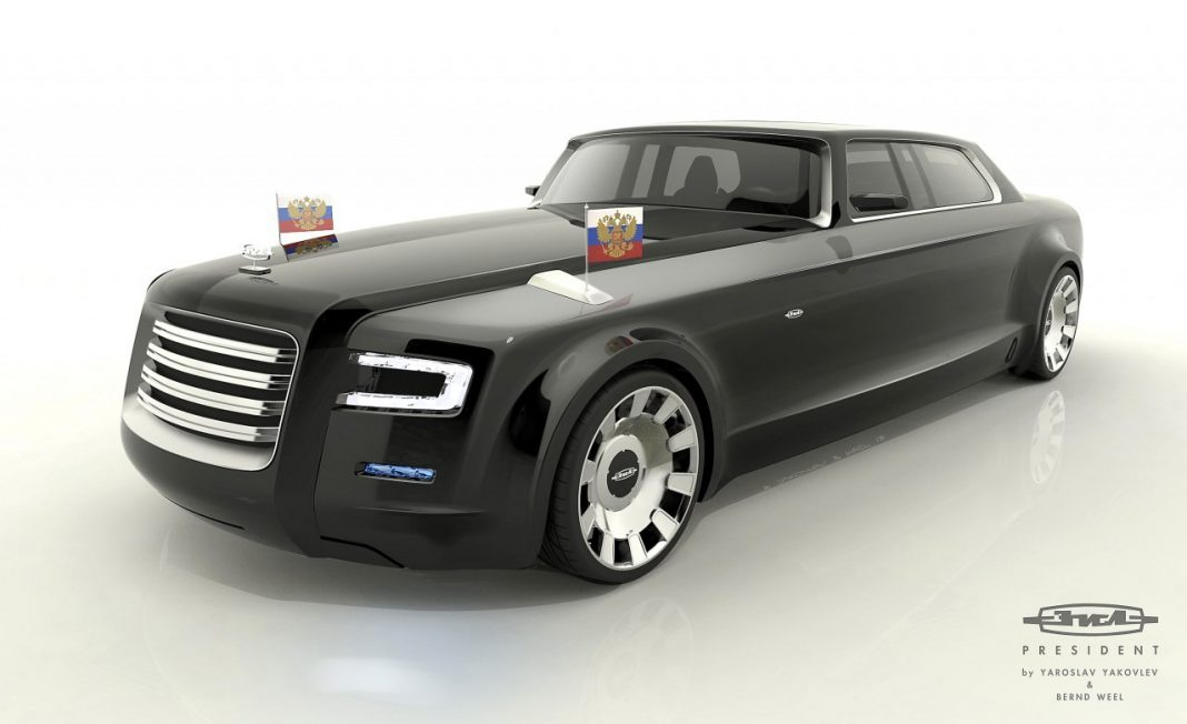 Marussia Concept Limousines for Russian President