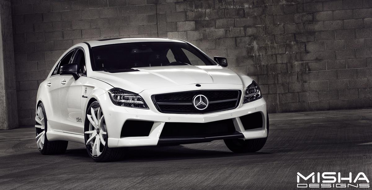 official mercedes benz cls 63 amg by misha design
