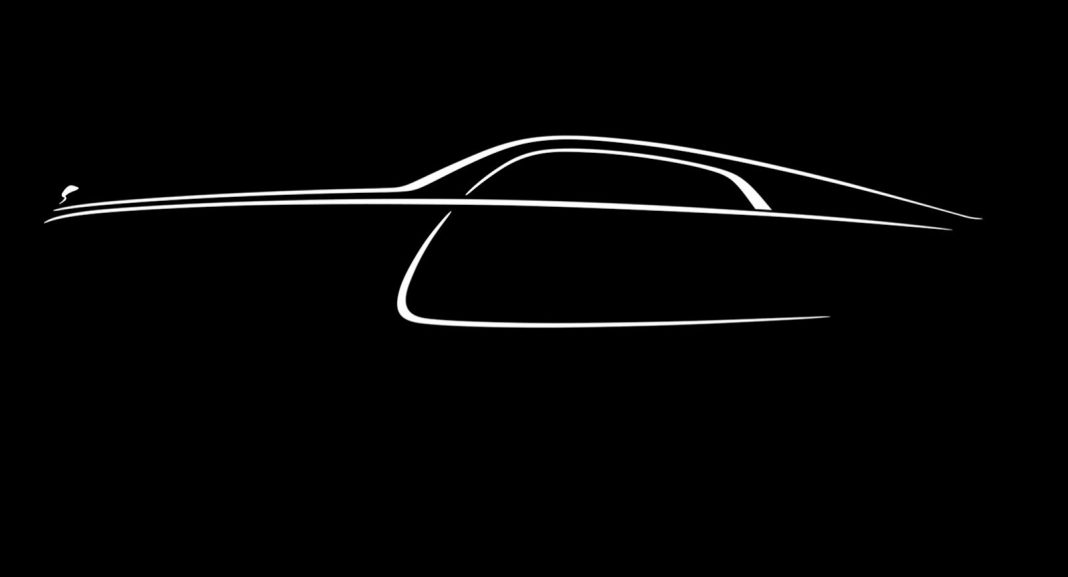 Final Teaser Image of Rolls-Royce Wraith Revealed
