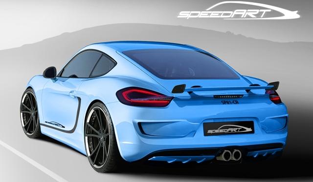 Official: SpeedArt SP81-CR Based on 2013 Porsche Cayman