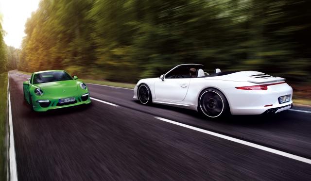 Official: Porsche 911 Carrera 4 by TechArt - GTspirit