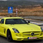 Video: Mercedes-Benz SLS AMG E-Cell Spotted in Spain