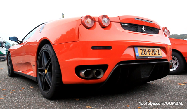Video: Ferrari F430 Fitted With Capristo Exhaust System