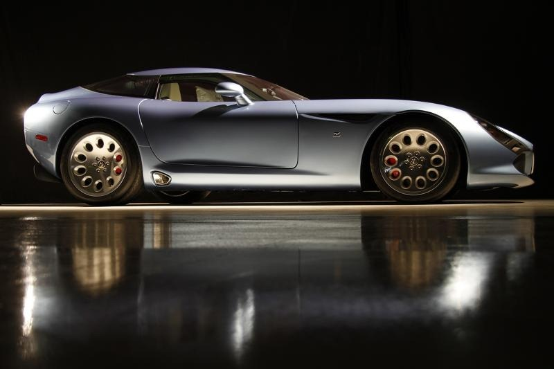 Ninth and Final Zagato Alfa Romeo Stradale TZ3 Debuting at Amelia Island Concours