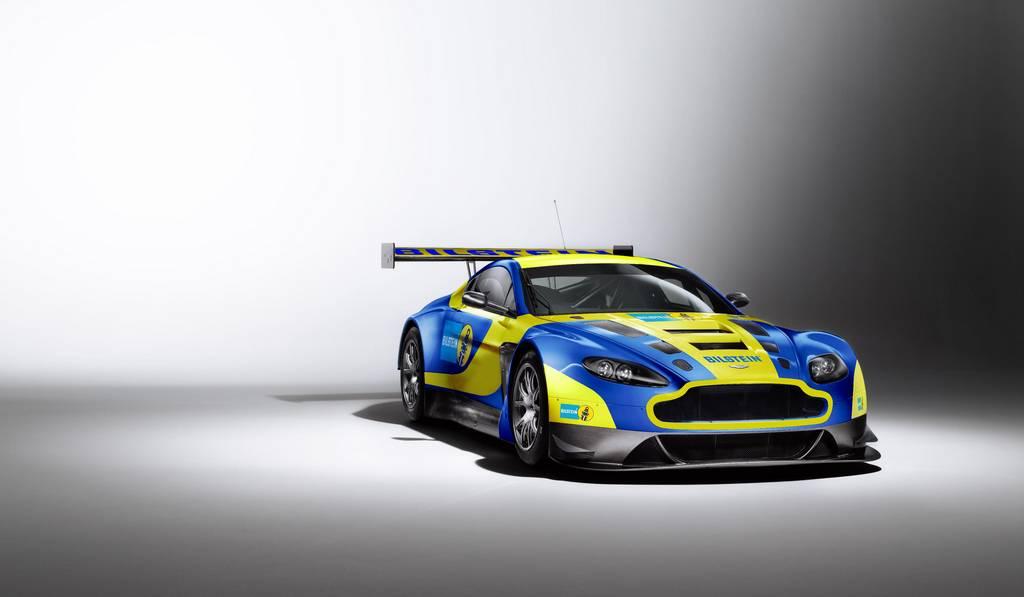Official 2013 Aston Martin V12 Vantage Gt3 Bilstein Gtspirit