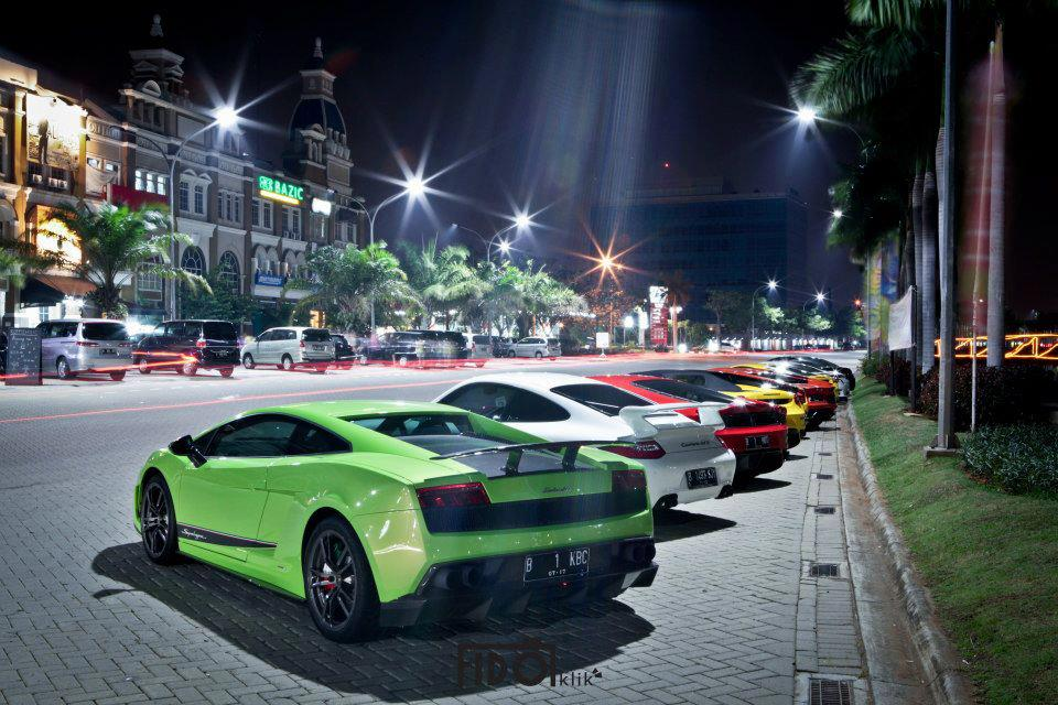 Super Car Club Indonesia Gathering