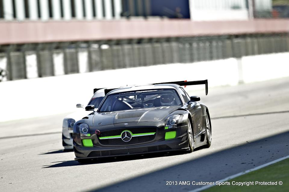 Mercedes-Benz SLS AMG GT3 Making Debut at Pirelli World Challenge