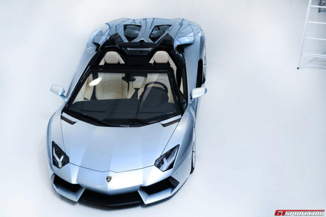 Support One Night for ONE DROP by Purchasing a Lamborghini Aventador Roadster