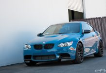 Laguna Seca Blue BMW E92 M3