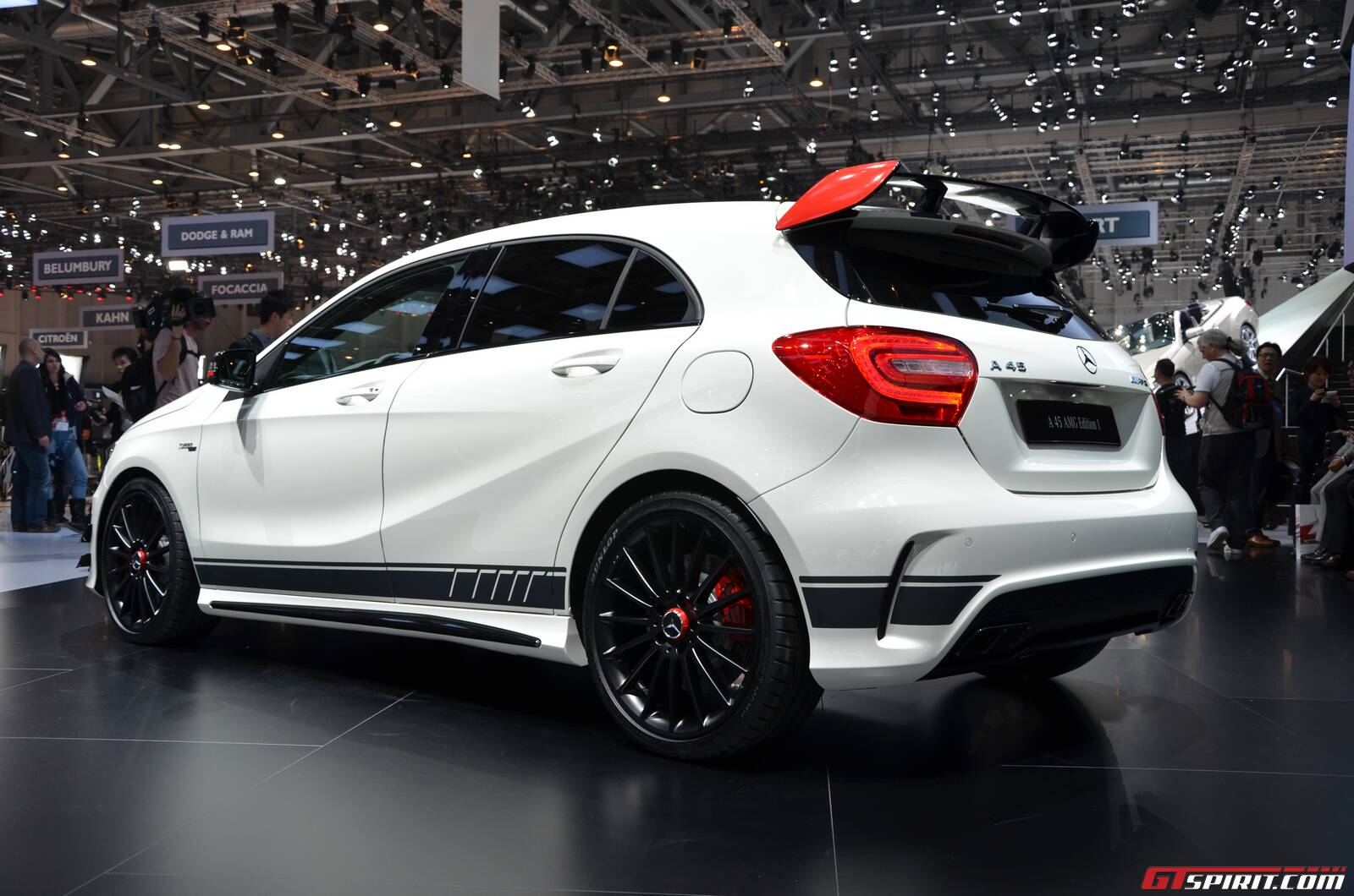 geneva 2013 mercedes benz a 45 amg edition 1 gtspirit. Black Bedroom Furniture Sets. Home Design Ideas