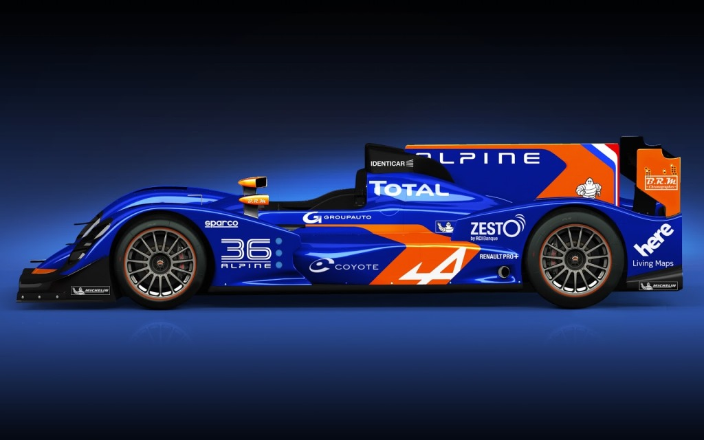 Official: 2013 Alpine N°36 Le Mans Racer
