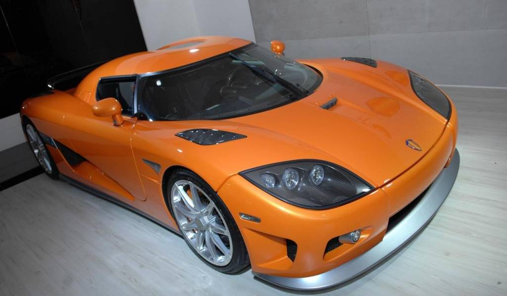 For Sale: Orange Koenigsegg CCXR With Just 12 Miles